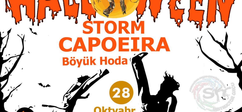 storm capoeira halloween party