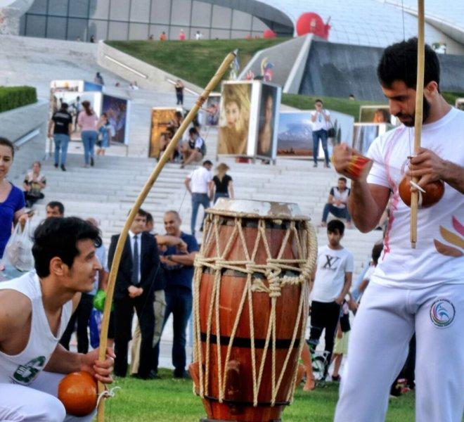 Deyder Eliyev Merkezi CApoeira open air Seminar