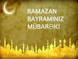 Ramazan bayraminiz mubarek 2020